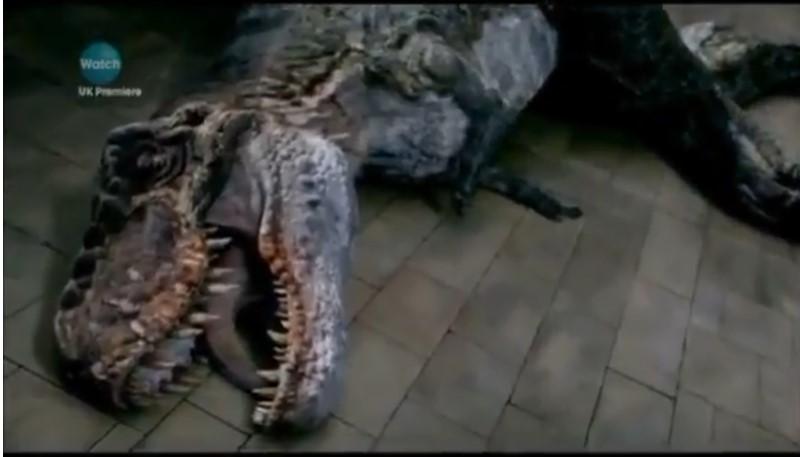 t rex dood